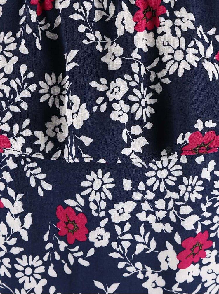 Top Dorothy Perkins albastru cu model floral