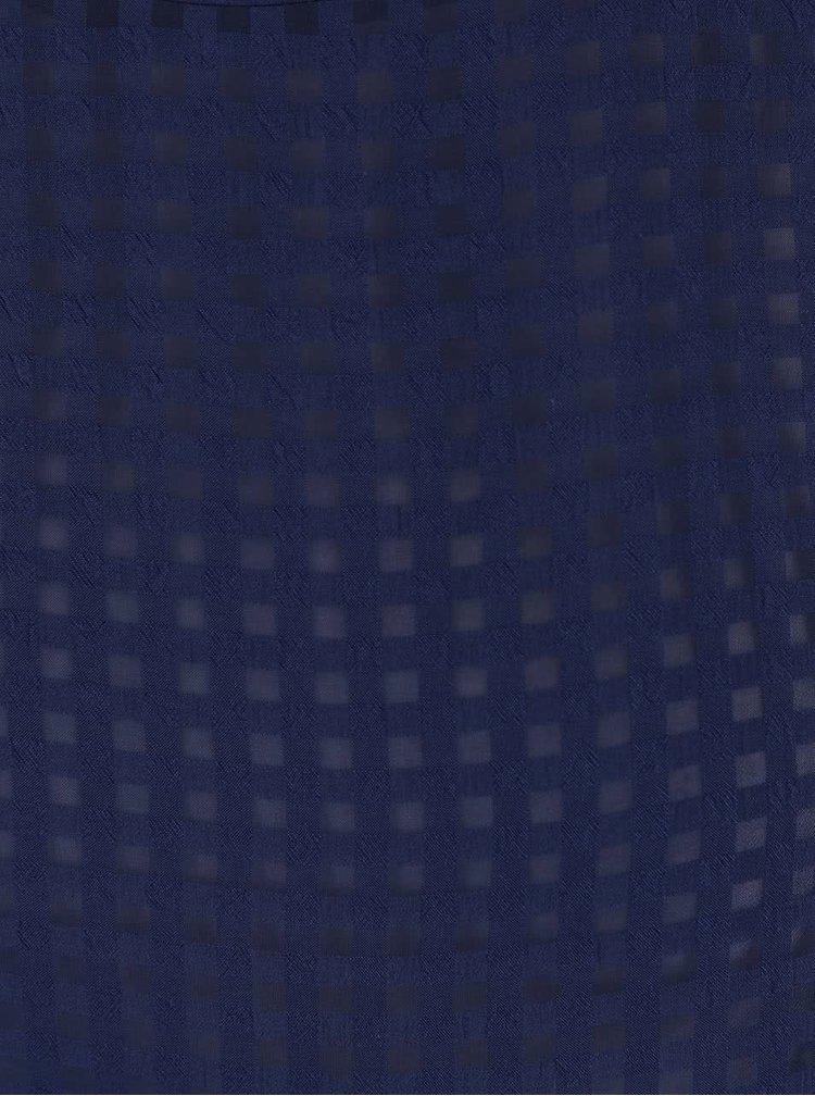Tricou Dorothy Perkins albastru închis- transparent
