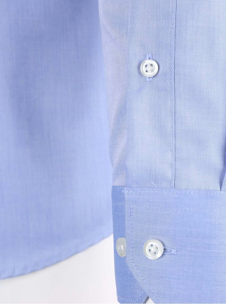 Camasa Seven Seas slim fit albastru deschis barbateasca