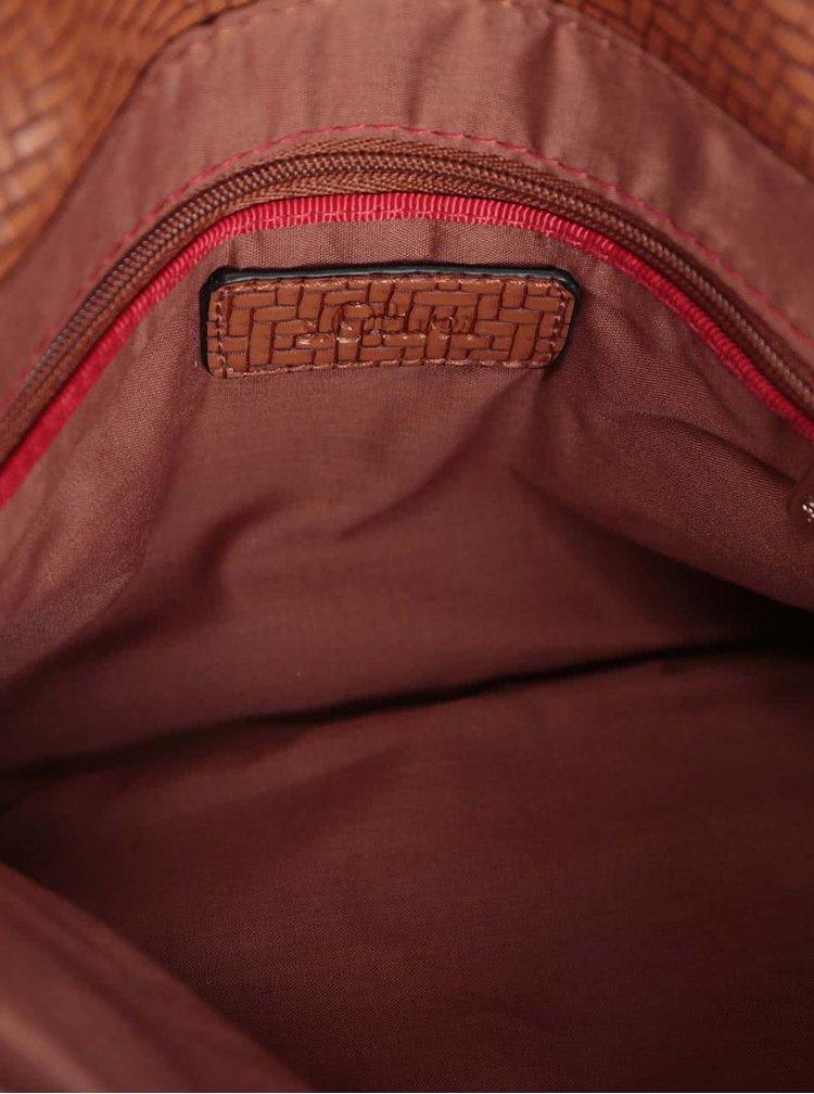 Menší hnědá kabelka na řetízku s.Oliver