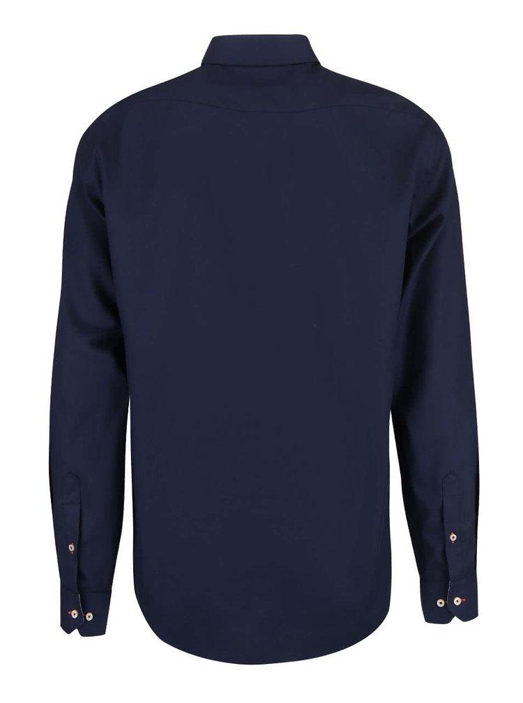 Tmavomodrá košeľa Seven Seas Fine Twill