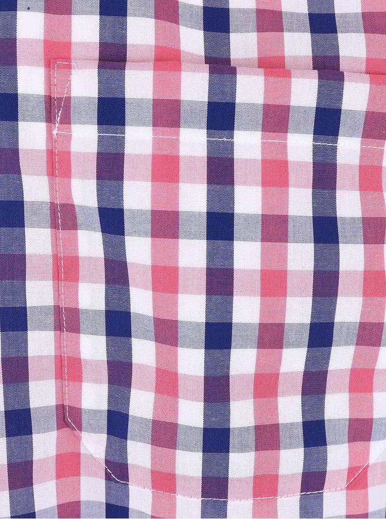 Cămașă Seven Seas roz/albastră