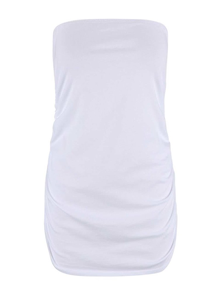 Top Dorothy Perkins alb fara maneci