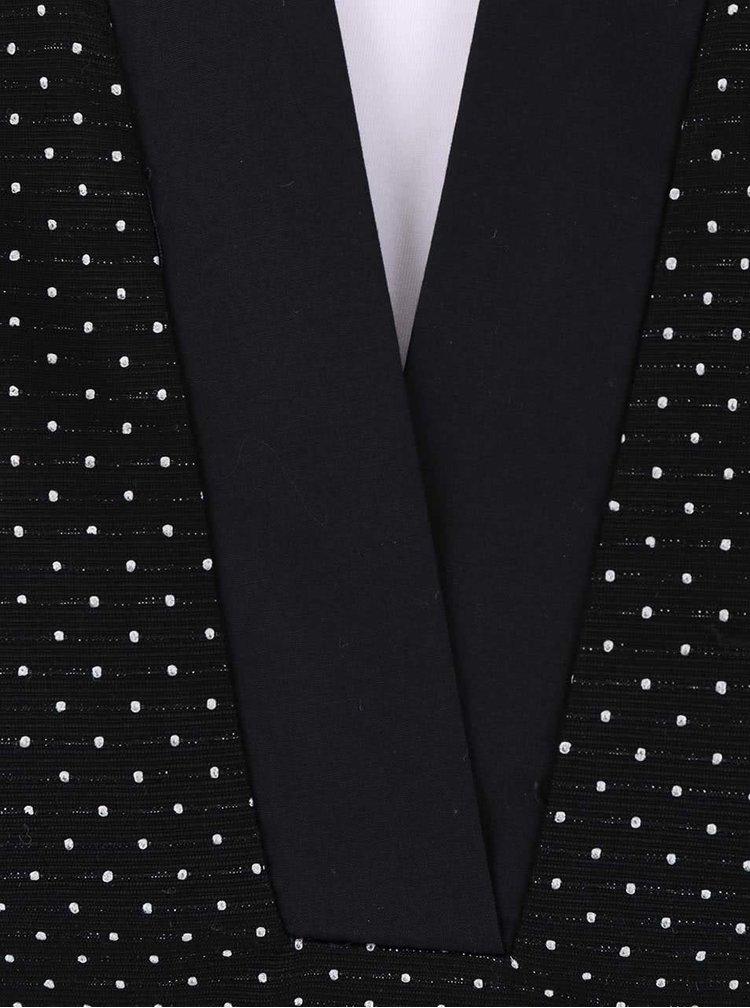 Čierne bodkované šaty s.Oliver