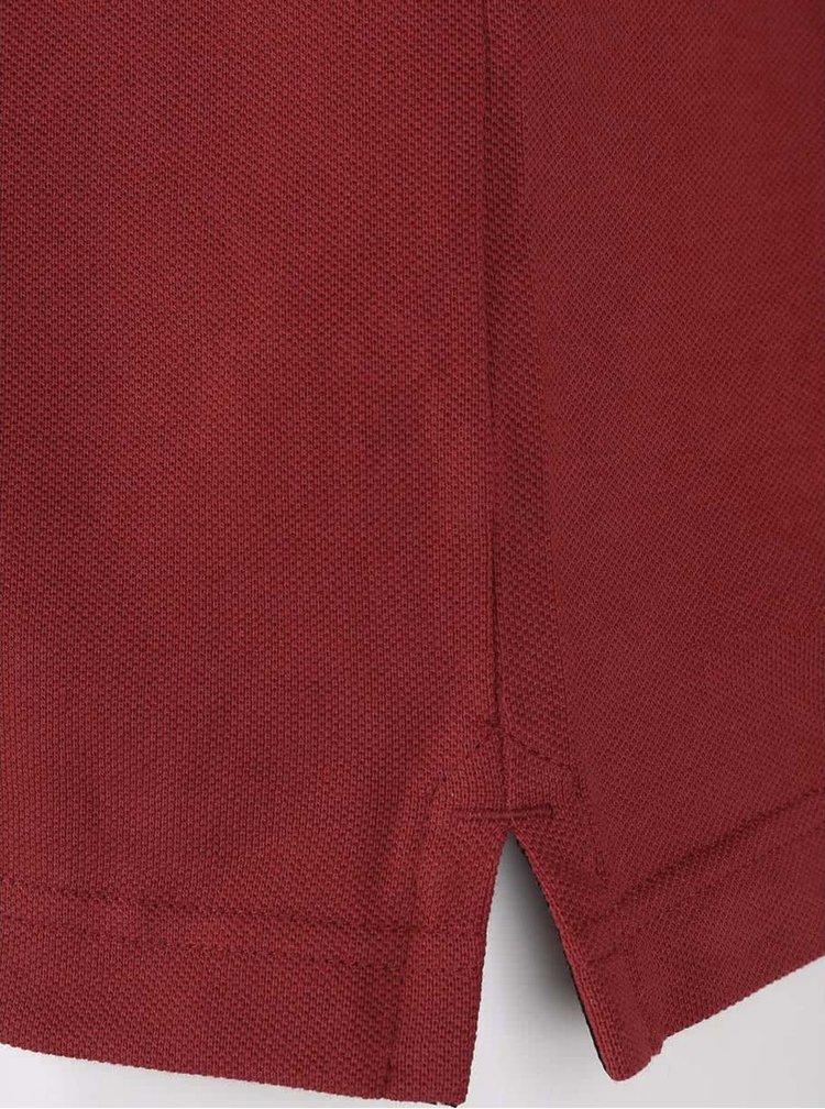 Červená pánska polokošeľa s.Oliver