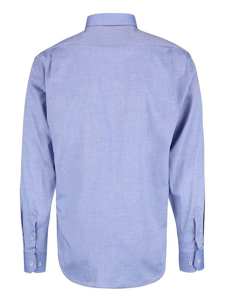 Cămașă Seven Seas Oxford albastră
