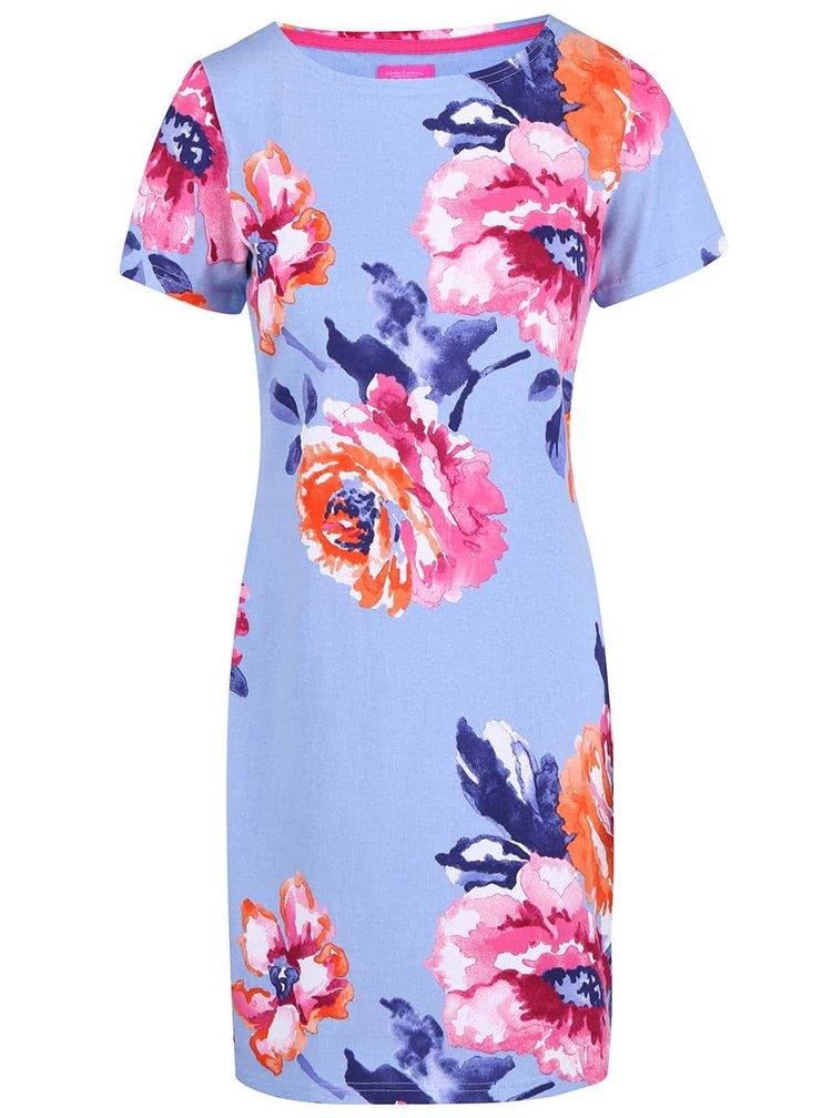 Rochie înflorată Tom Joule Riviera albastră