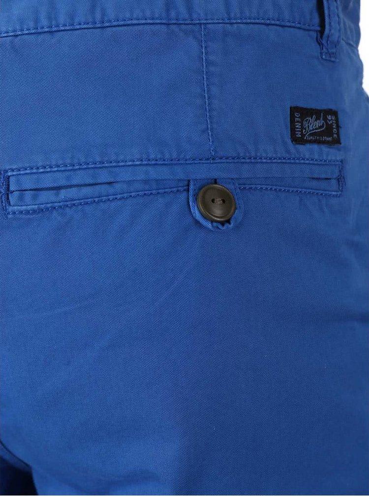 Modré kraťasy s farebným zaväzovaním Blend