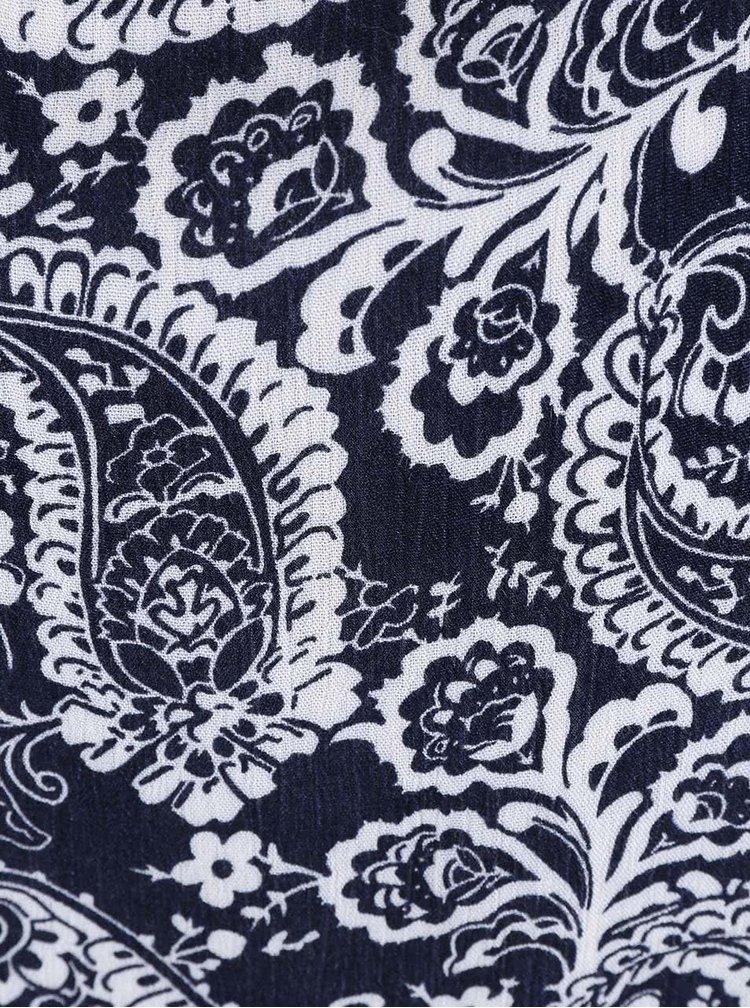 Tmavě modrý vzorovaný top Haily´s Mallory II.