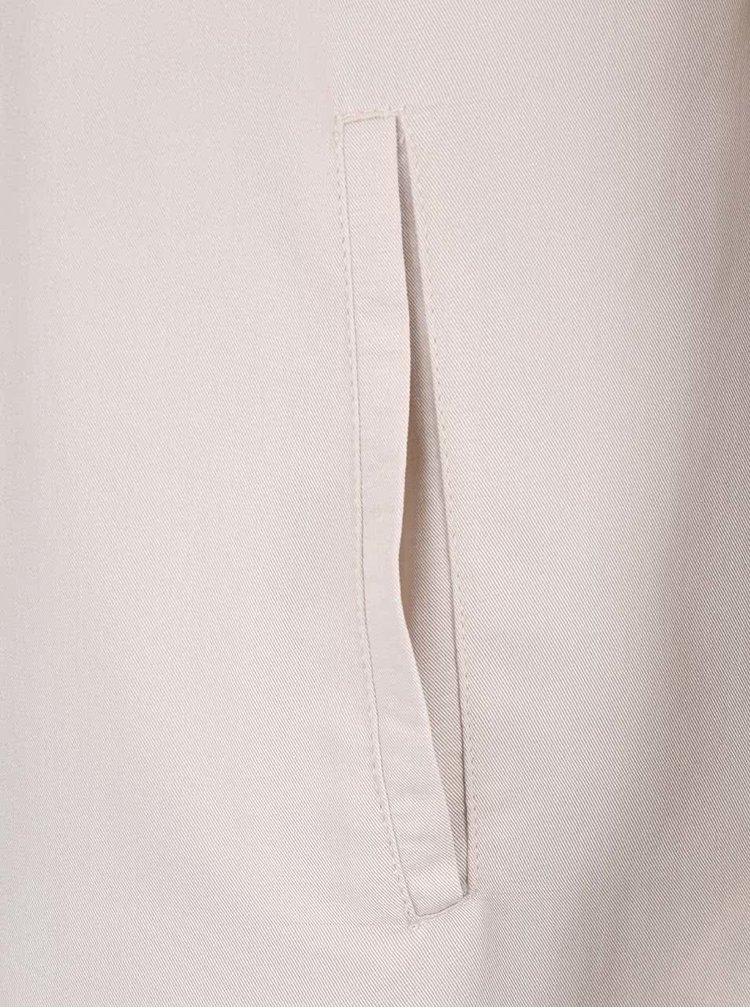 Krémový lehký kabát Haily´s Selena