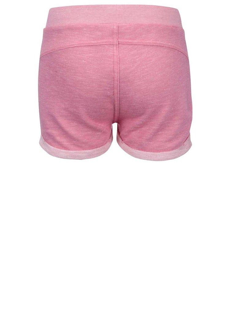 Růžové holčičí teplákové šortky LEGO wear