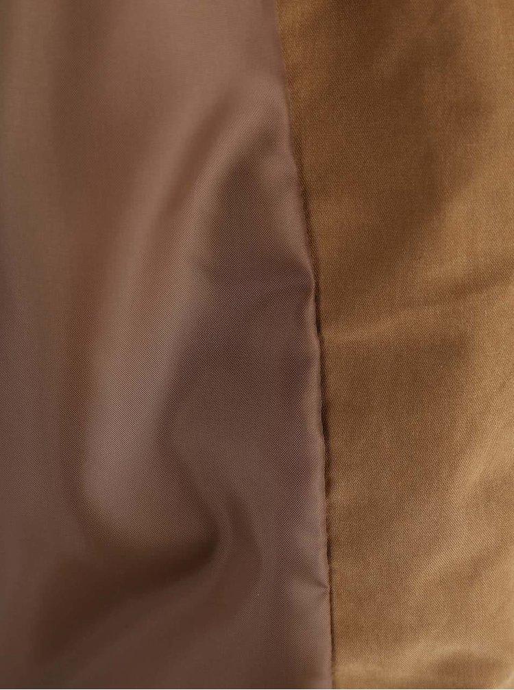 Hnědá bunda ONLY Skylar
