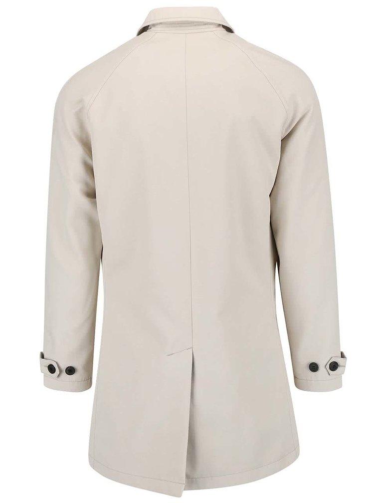 Krémový kabát Selected Homme Paris