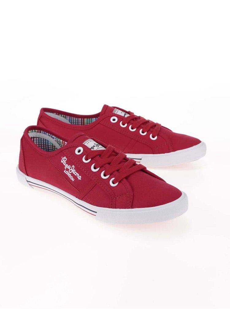 Teniși de damă Pepe Jeans roșii