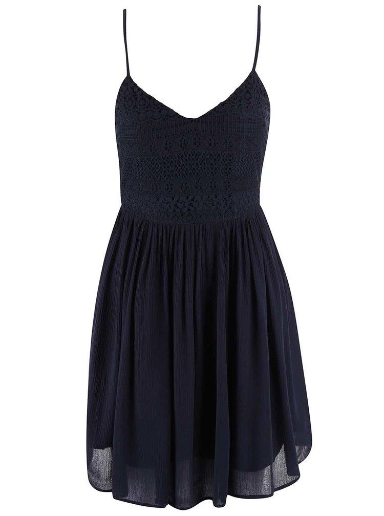 Tmavě modré šaty ONLY Addy