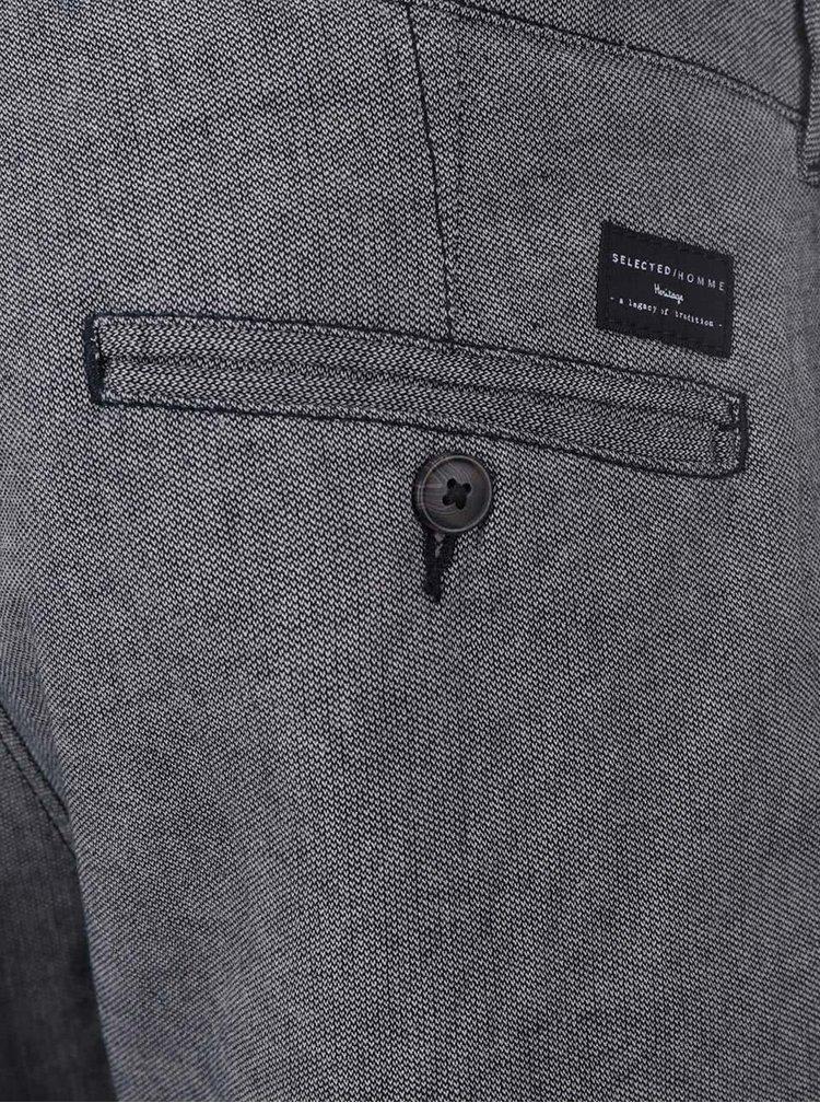 Sivé nohavice Selected Homme Paris