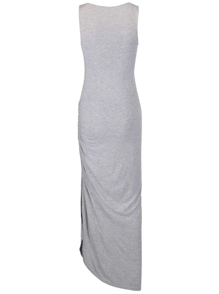 Rochie maxi asimetrică ONLY New Ria gri