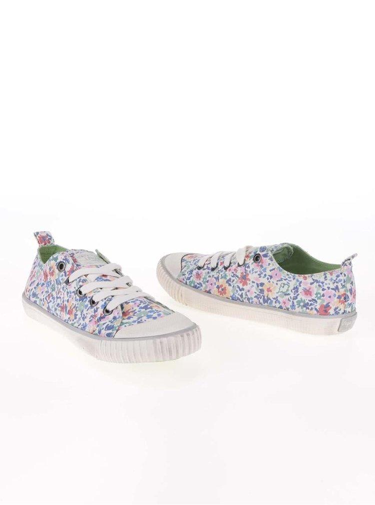 Teniși de damă Pepe Jeans cu model floral