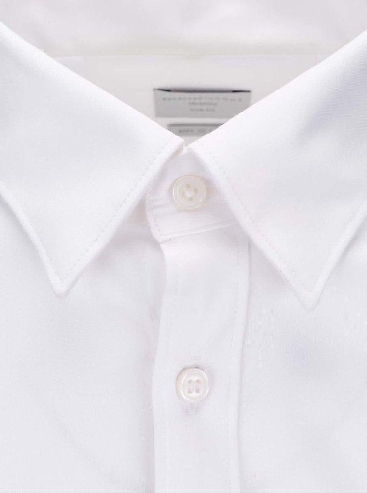 Bílá formální slim fit košile Selected Homme Done