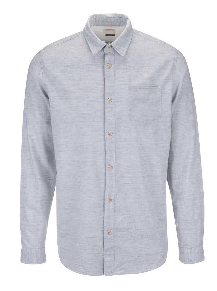 Šedomodrá košile Selected Homme Wowade