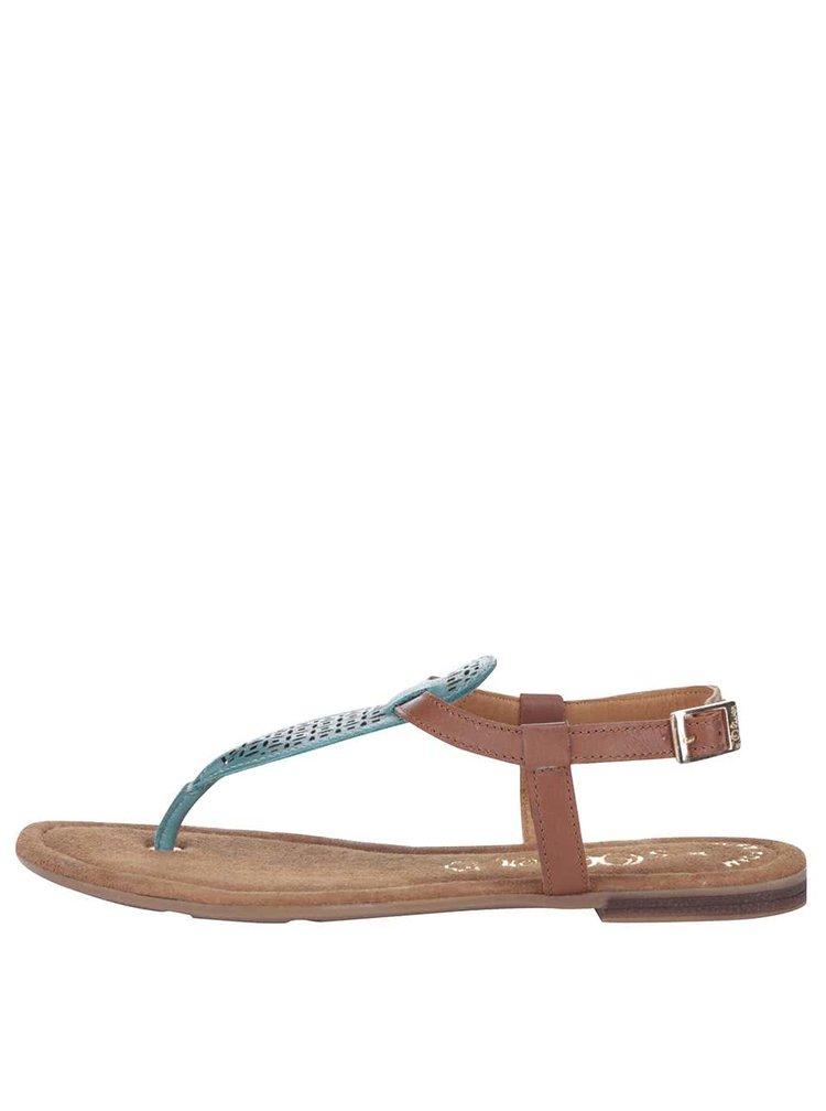 Sandale s.Oliver maro/turcoaz