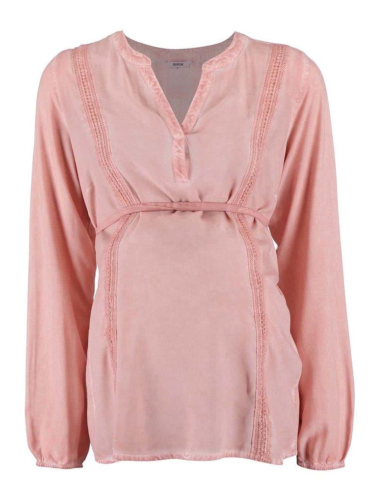 Bluză Mama.licious Pigment roz