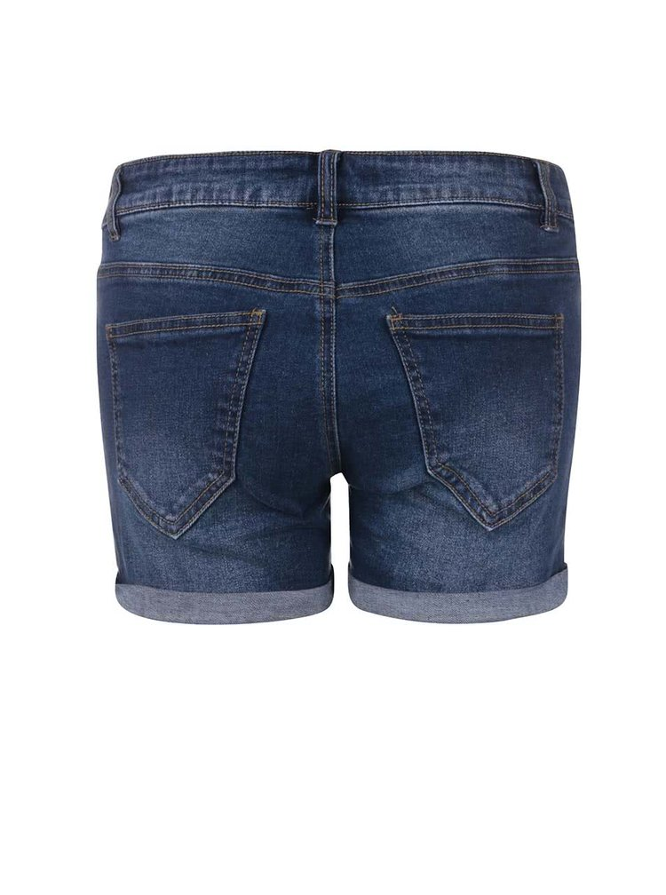 Pantaloni scurți VERO MODA Be Five din denim,