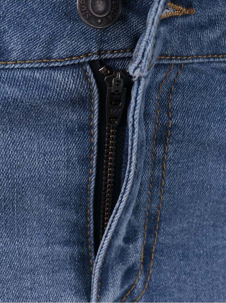 Modrá džínová sukně VERO MODA Be Seven