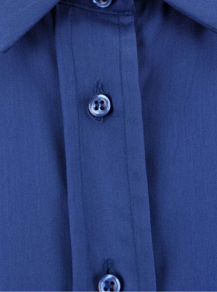Modrý overal na knoflíčky Alchymi
