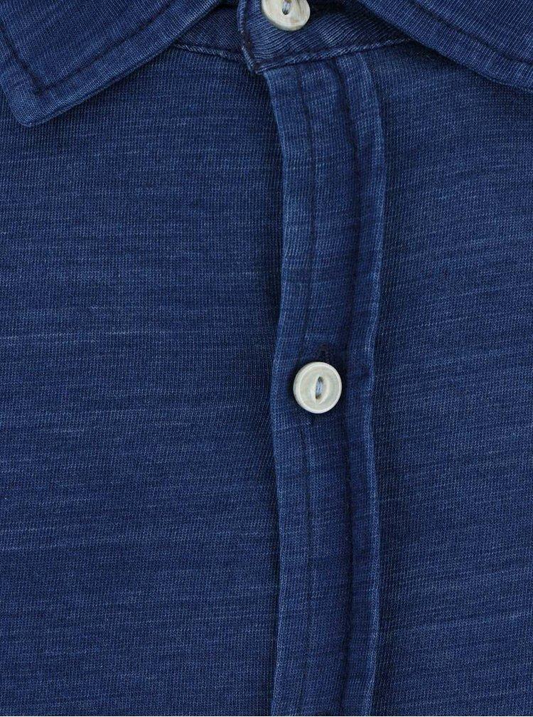 Modrá košeľa Dstrezzed