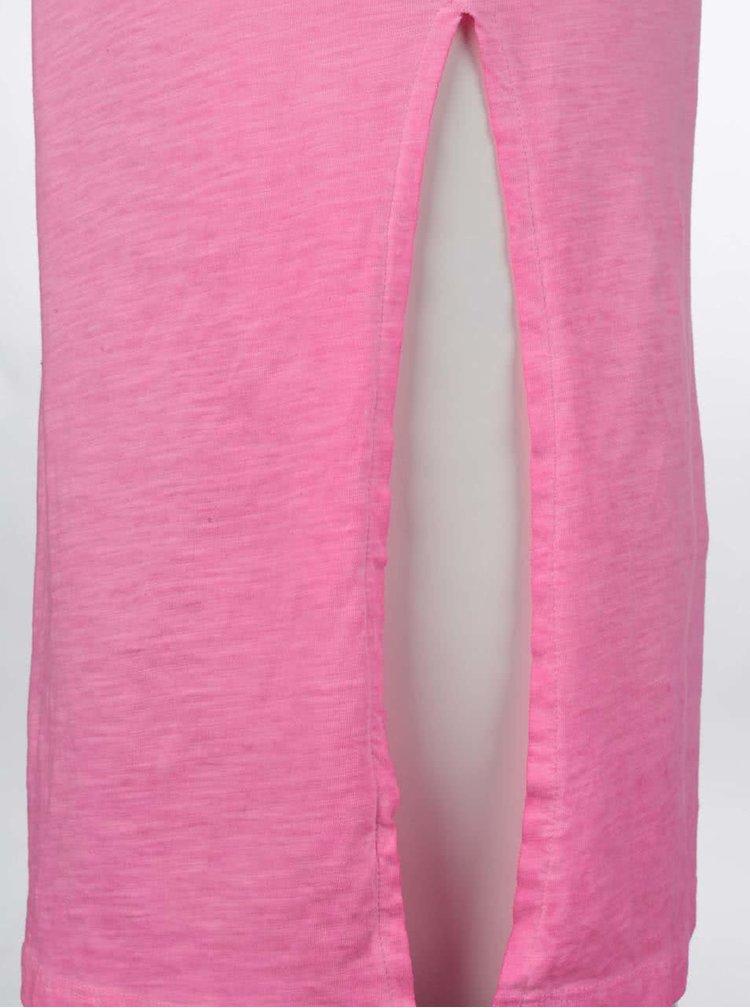 Rochie maxi Cars Milly roz