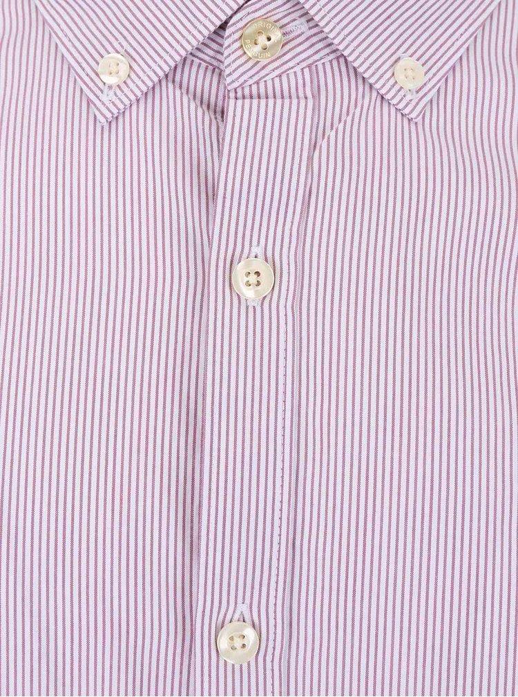 Krémovo-růžová pruhovaná košile Original Penguin Dressy