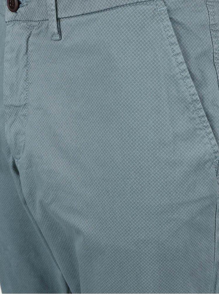 Pantaloni chino Jack & Jones Marco albastru deschis