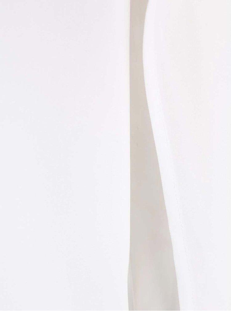 Bílý volnější top Alchymi Juno