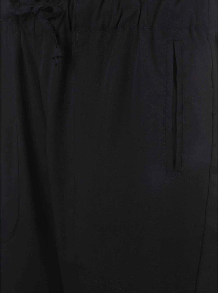 Černé volnější kalhoty Alchymi Obsidian