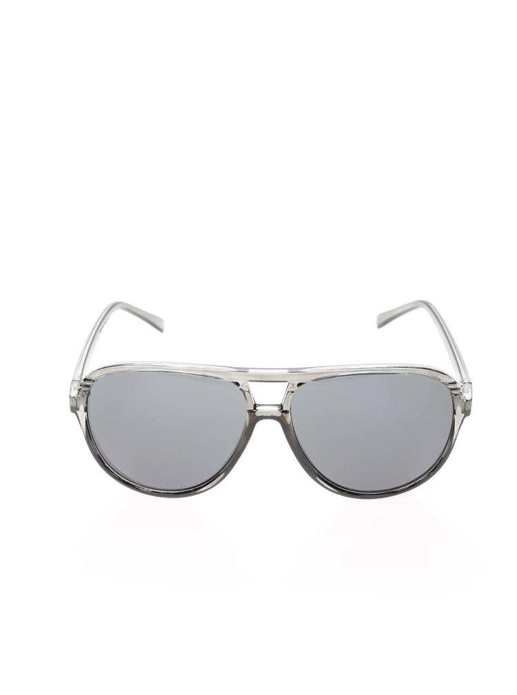 Zelenošedé sluneční brýle Jack & Jones Jack