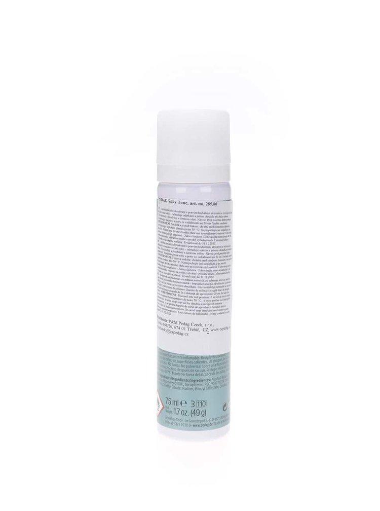 Antibakteriálny deodorant na chodidlá s pravým hodvábom pedag