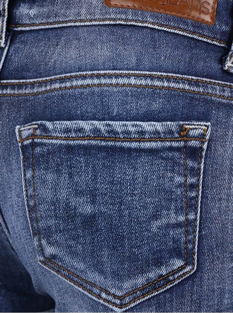 Modré holčičí džínové šortky Cars Jeans Sara