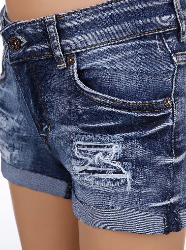 Blugi scurti Cars Jeans Sara albastri pentru fete