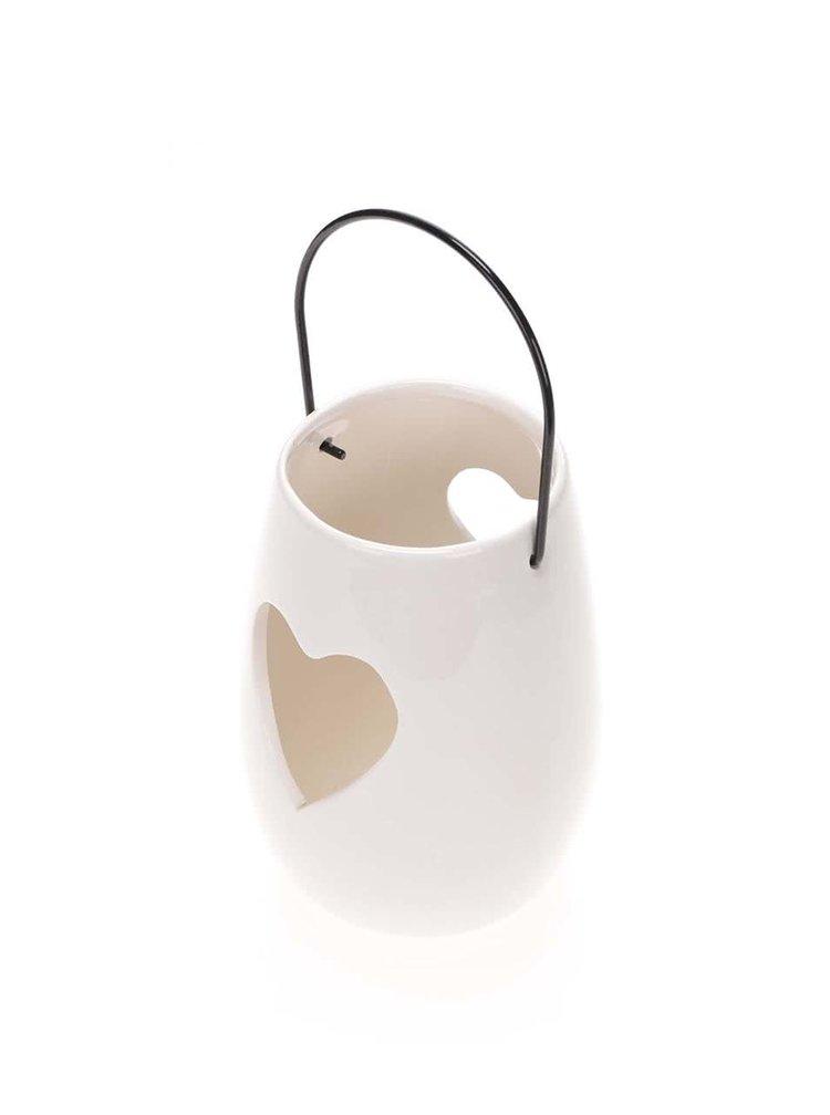 Suport de lumânare din ceramică Dakls