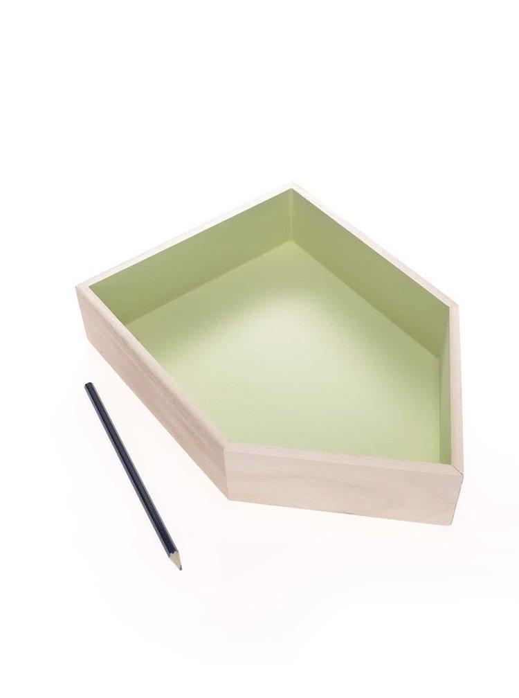 Căsuță din lemn Dakls verde