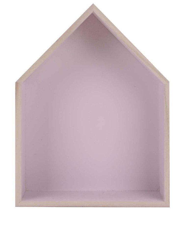 Fialový závěsný středně velký domeček  Dakls