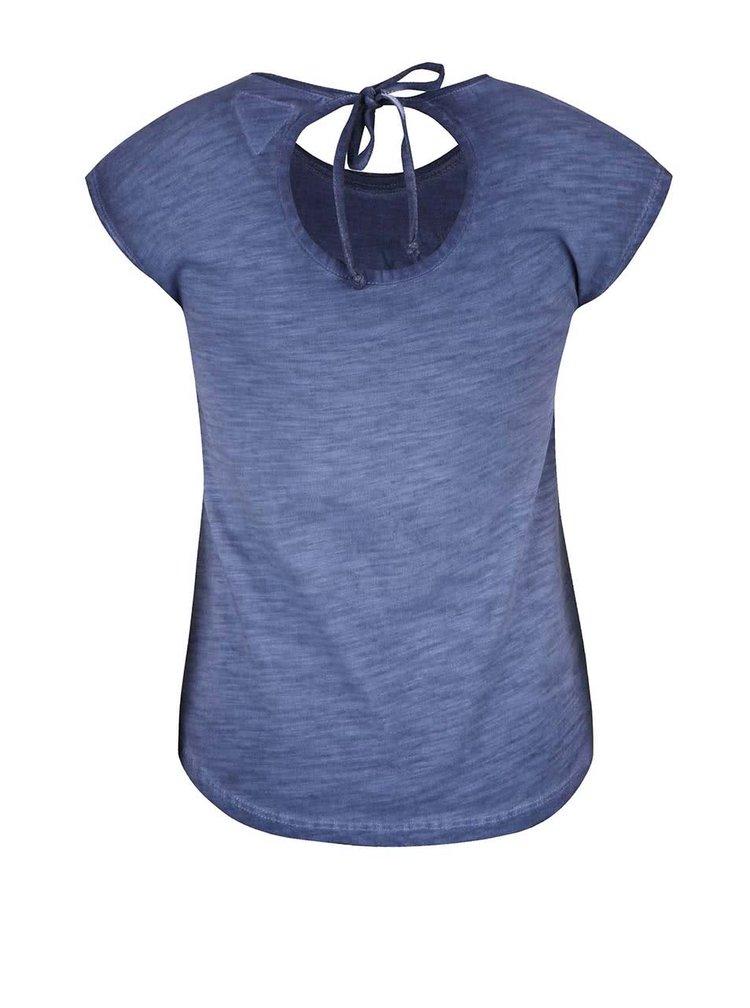 Tmavě modré holčičí tričko bez rukávů Cars Jeans Cameron