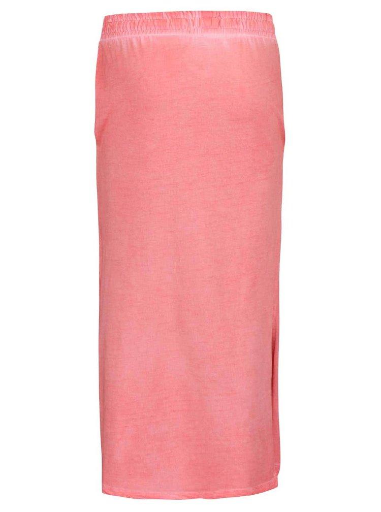 Koralová dievčenská sukňa Cars Jeans Miggy