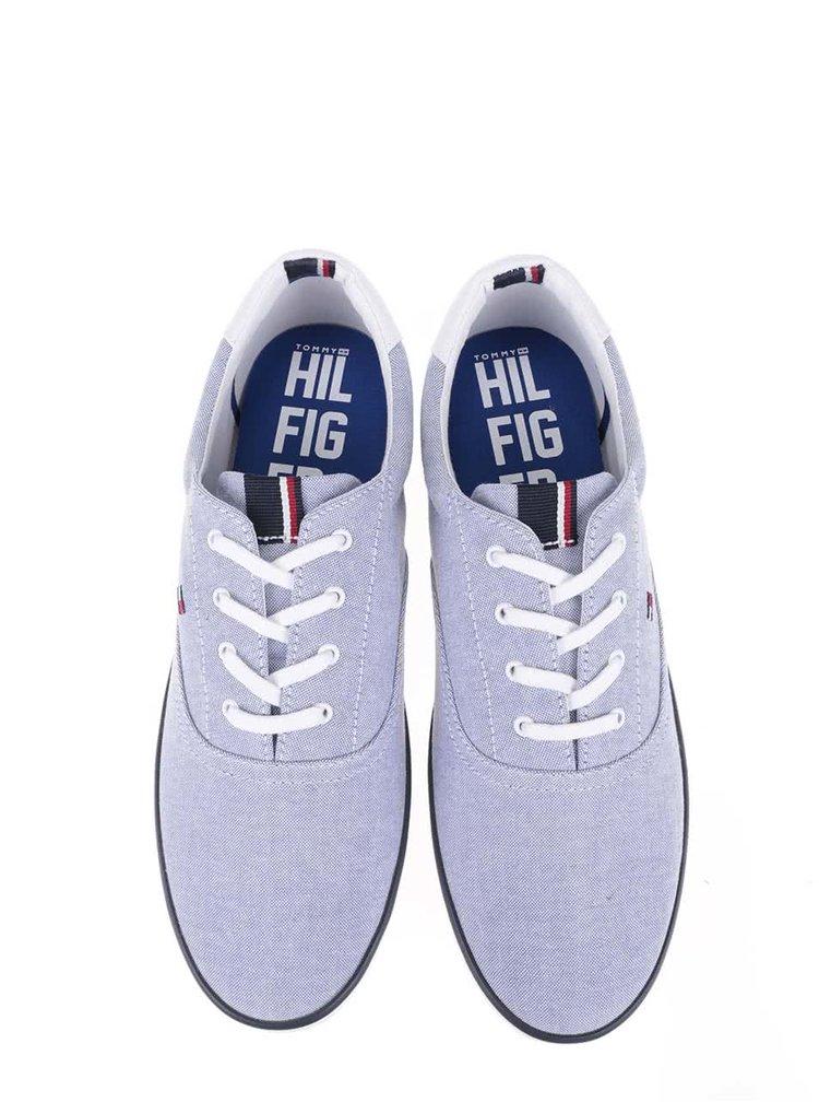 Bielo-modré pánske tenisky Tommy Hilfiger Arlow