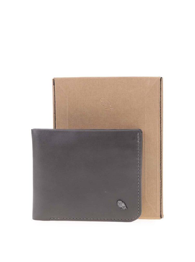 Tmavosivá kožená peňaženka Bellroy Hide & Seek