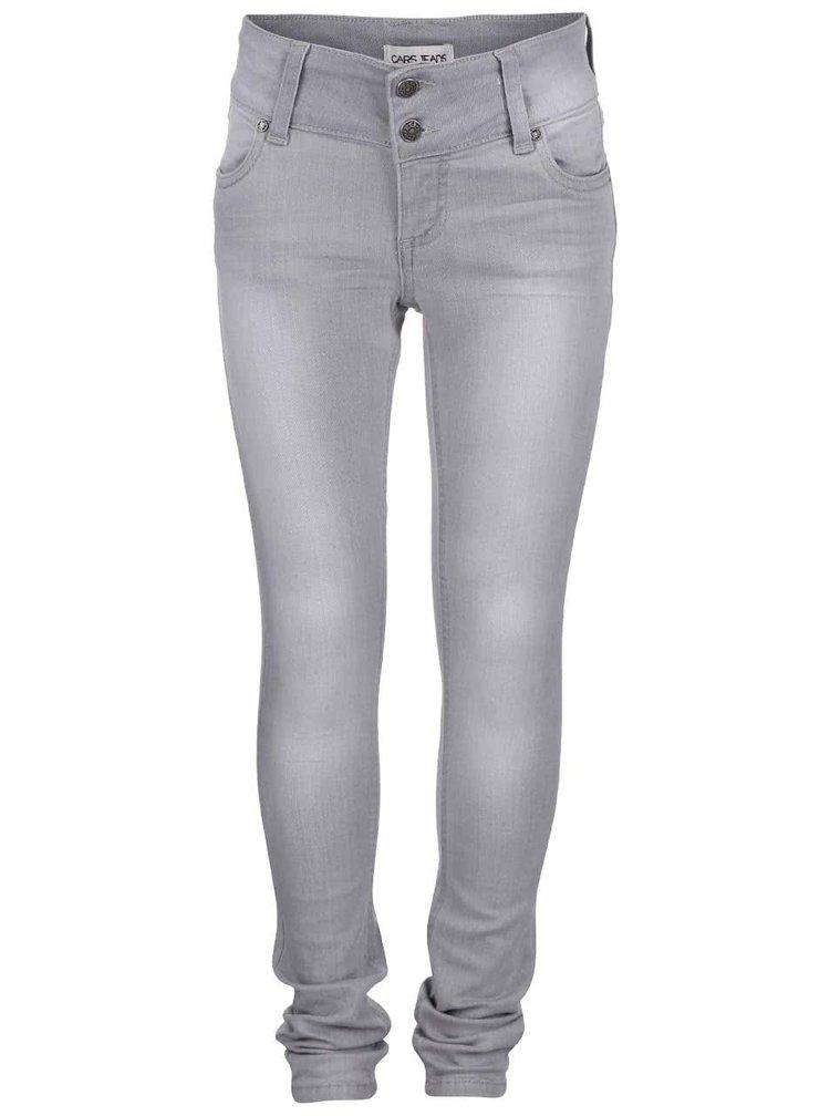 Šedé holčičí džíny Cars Jeans Abigail