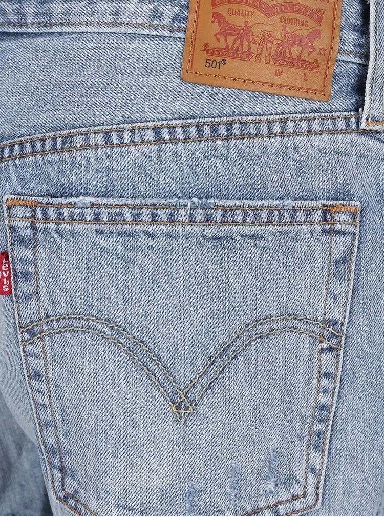 Modré dámské džínové kraťasy Levi's® 501 CT