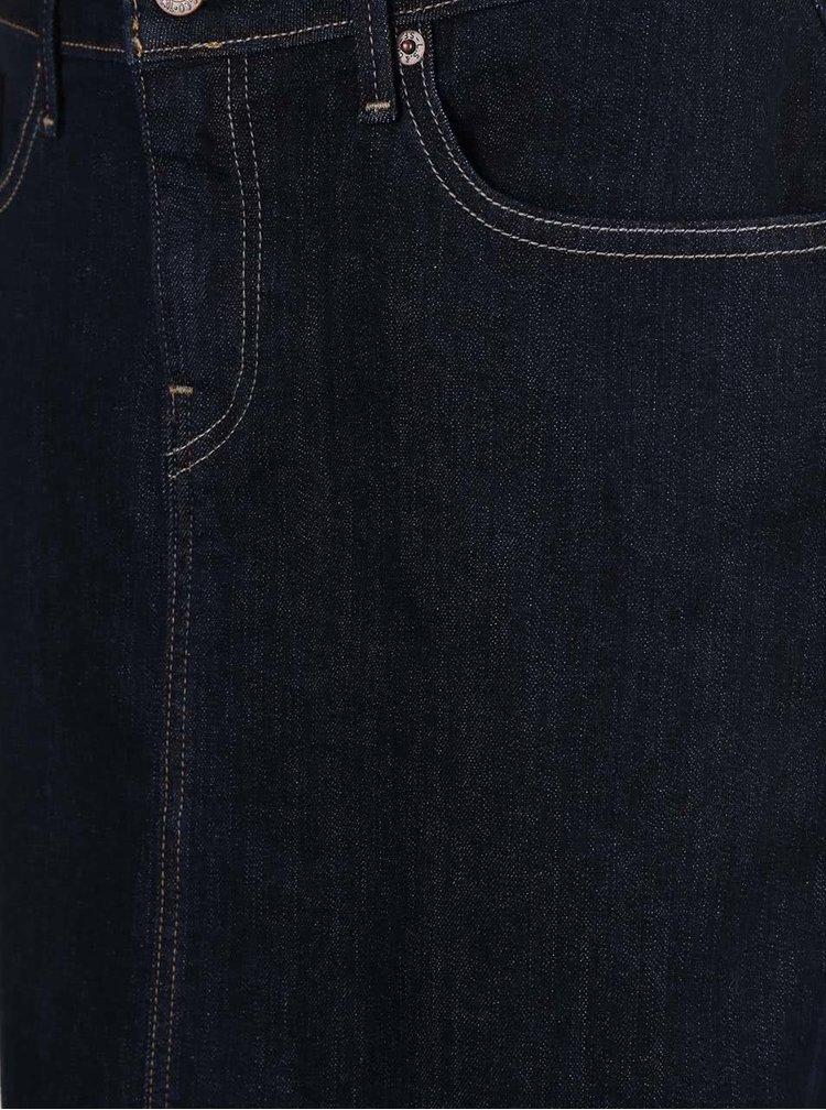 Fusta Levi's® albastru inchis din denim
