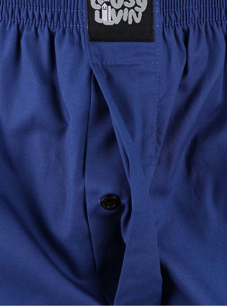 Modré trenýrky Lousy Livin Plain